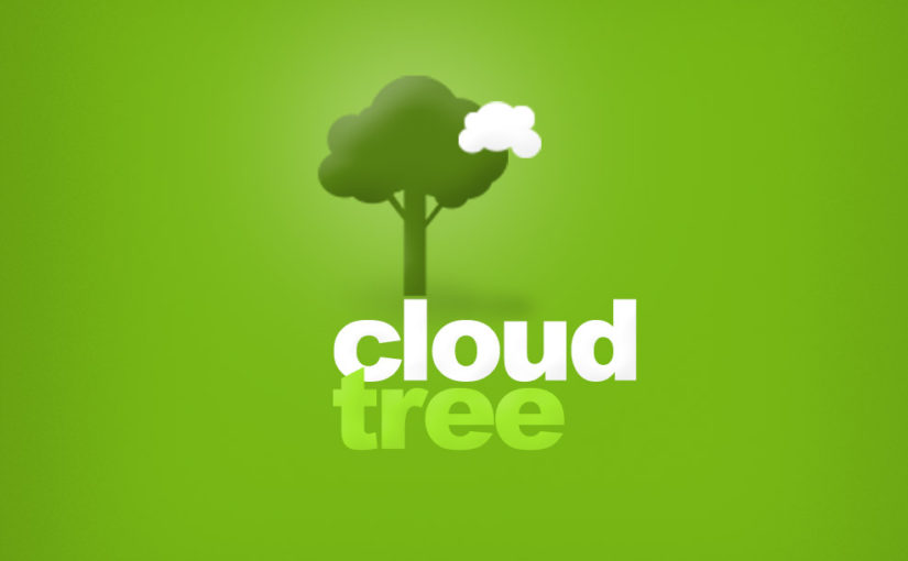 Plant tree Cloud Free Logo design