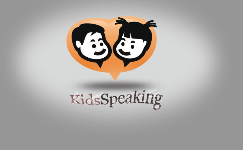 Speaking Kids Logo – Free design