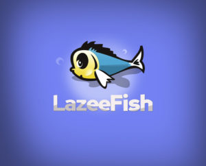 lazy fish free logo