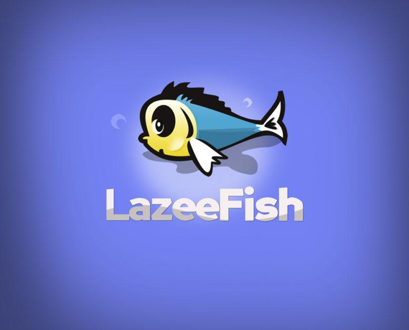 lazy fish free logo