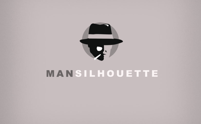 Man Silhouette Logo – Free Download