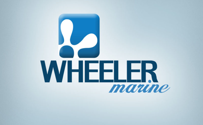 Wheeler Marine Free Logo design