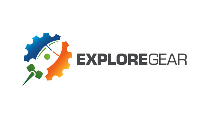 Explore Gear – Outdoor Lifestyle Adventure Free Logo