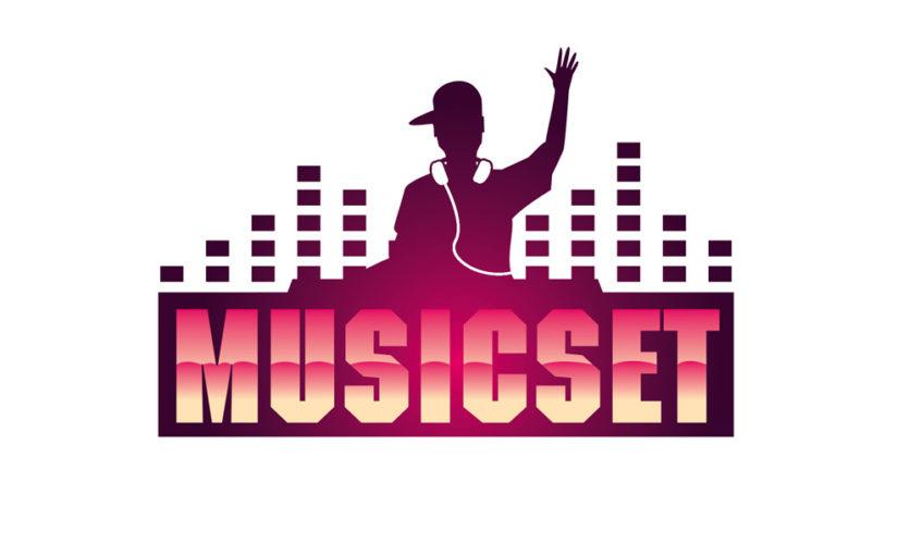 Music Set DJ Logo – Free Download