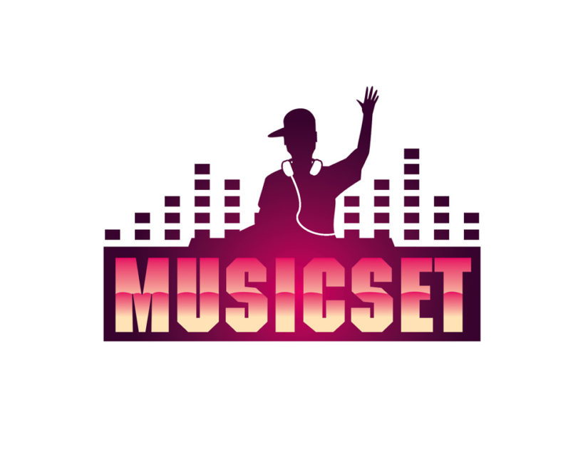 Music Logo  Online Software for Design Logo  LOGASTER