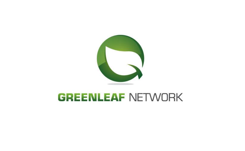 Green Leaf Network Logo- Free Download