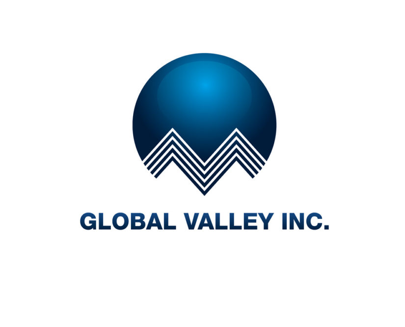 Global valley free logo design template