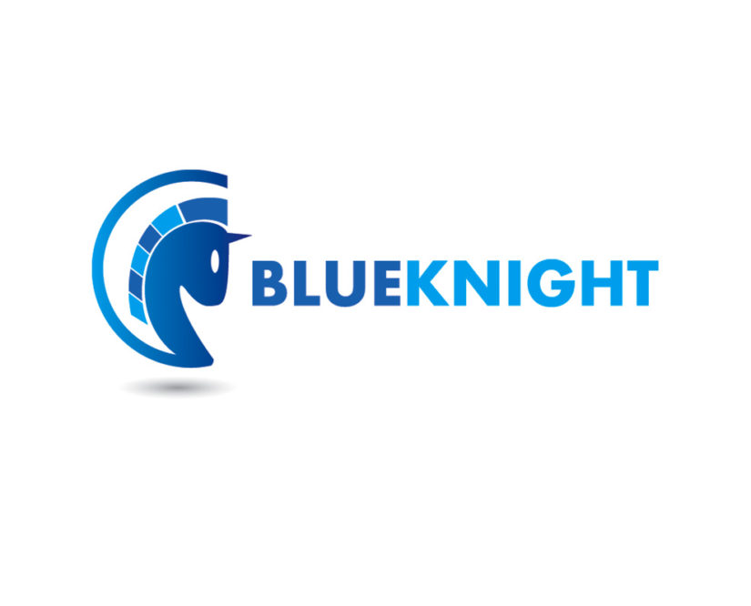 blue knight free logo vector and psd