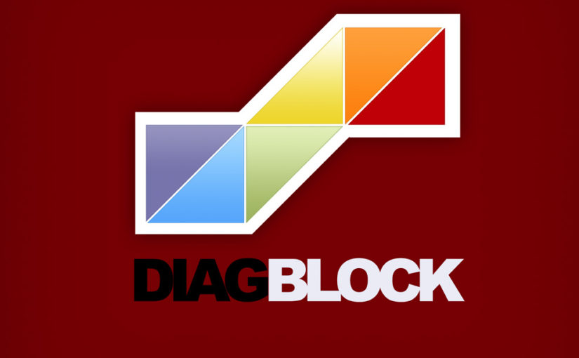 Diagonal Block Logo- Free Download