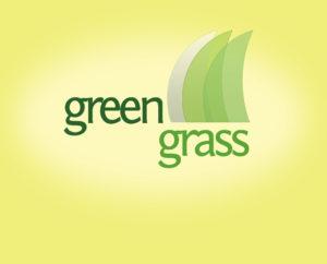 green grass free logo design