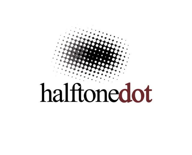 Halftone logo download