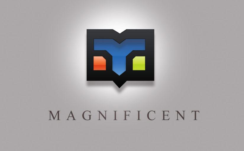 Magnificent Letterhead logo design – Free Download