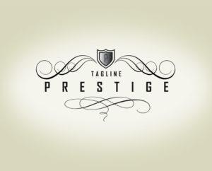 prestige free premium logo template