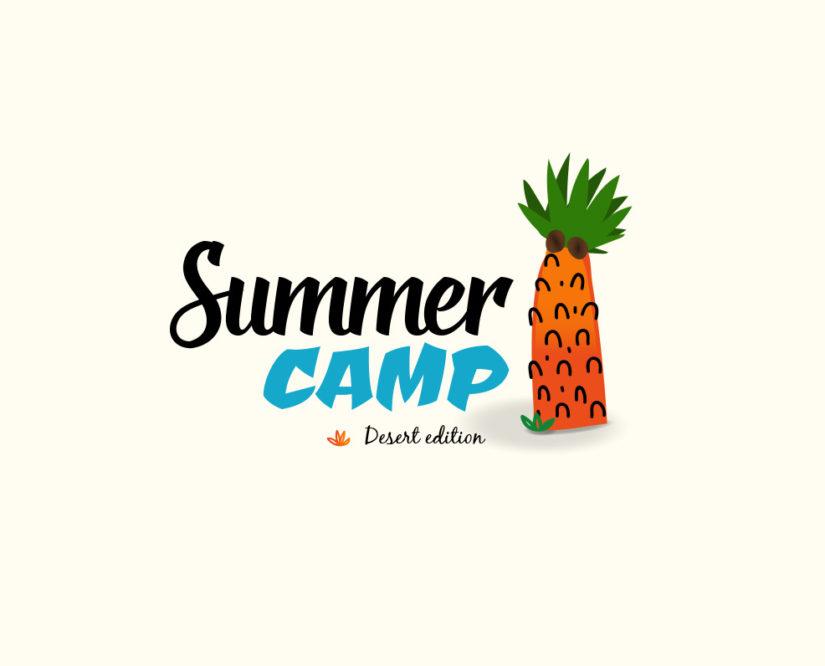 summer camp free logo