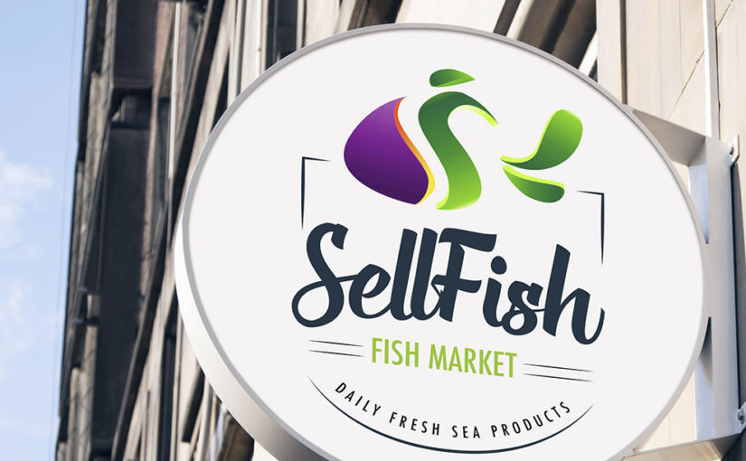 Fish logo – Logo gratis added to the collection