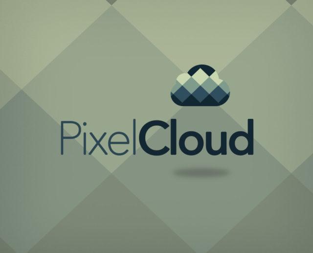 pixel cloud free logo