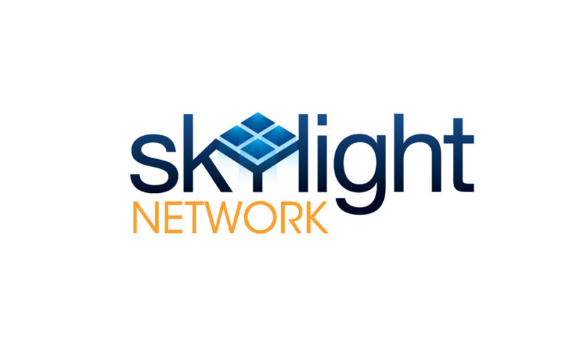 Skylight Network free logo template