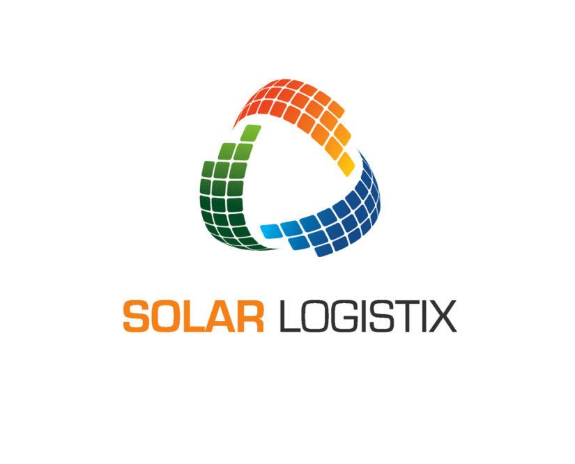 solar energy logistics free logo