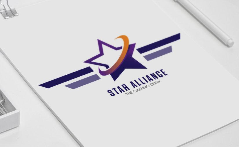 Star alliance gaming logo – Free download