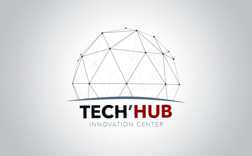 Innovation logo design – free template
