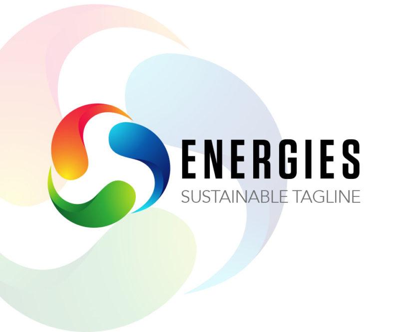 Energy company logo design