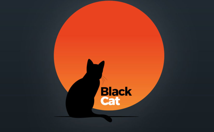 Black Cat Logo – Free Download