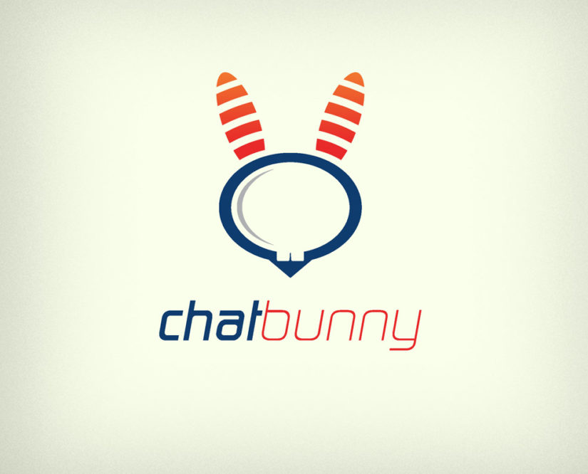 bunny rabbit chat free logo