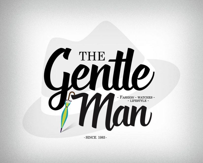 gentleman logo fashion logo