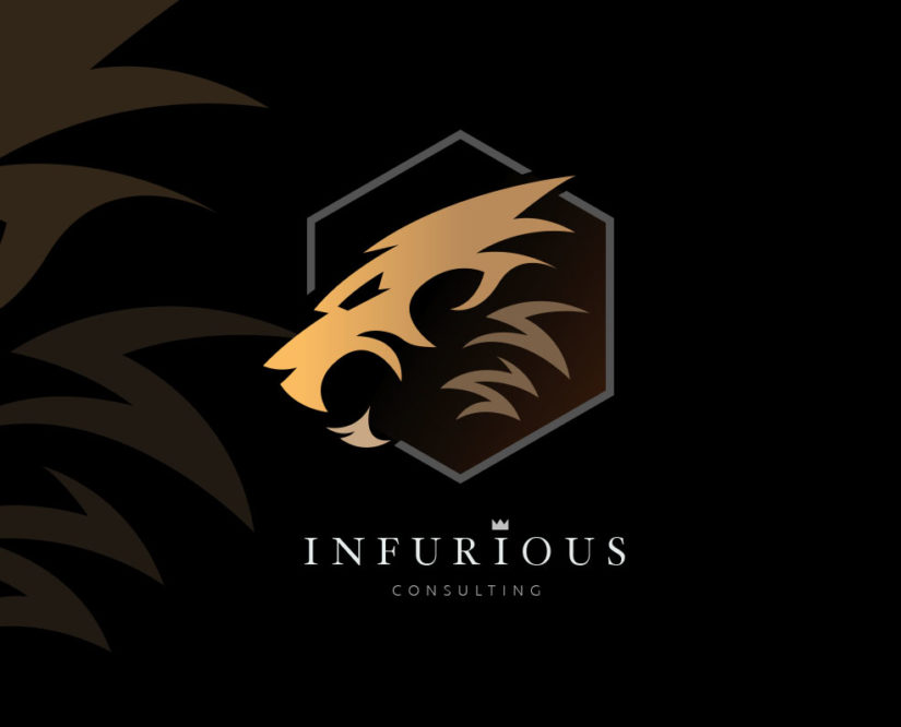 lion head logo - logoInstant.com