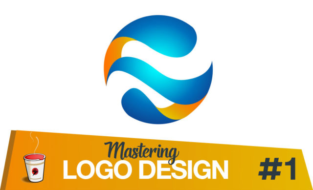 Logo design tutorial abstract globe logo
