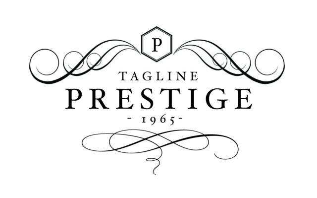 prestige logo light