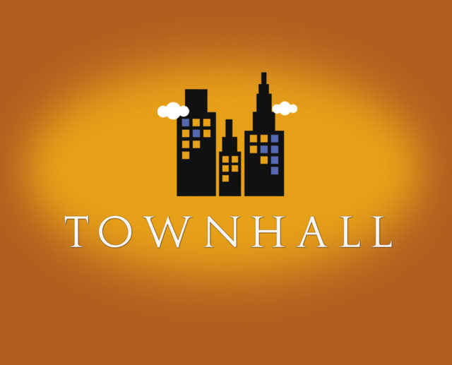 townhall buildings free logo