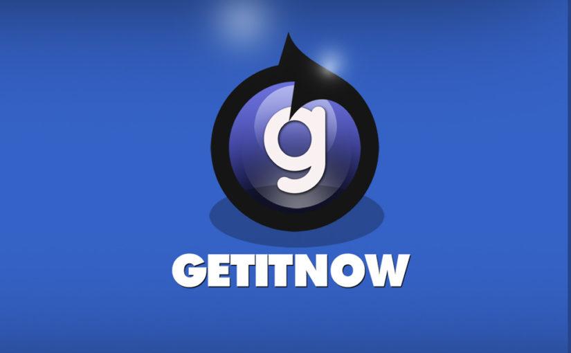 Get It Now Free Logo design!