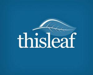 green leaf free logo design