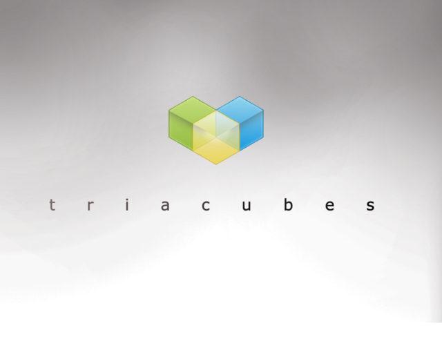 tria cubes free logo download