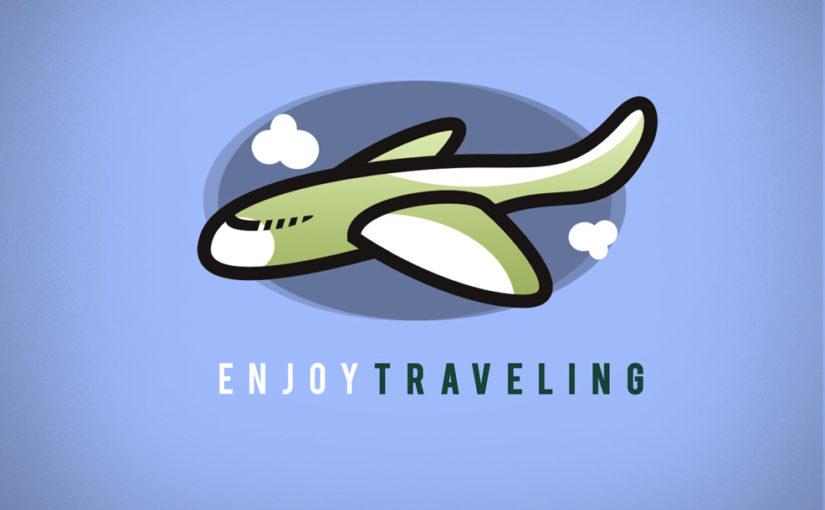 Enjoy Traveling – Free Logo