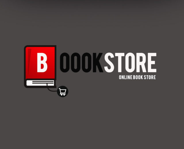 BoookStore Logo Template Free Download - Online book template free