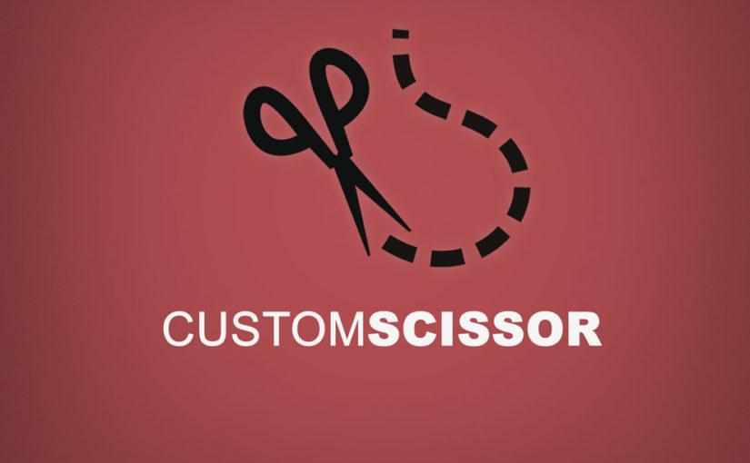 Custom Scissor Logo- Free Download!