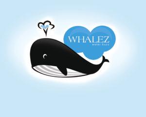 whale free marine logo download psd