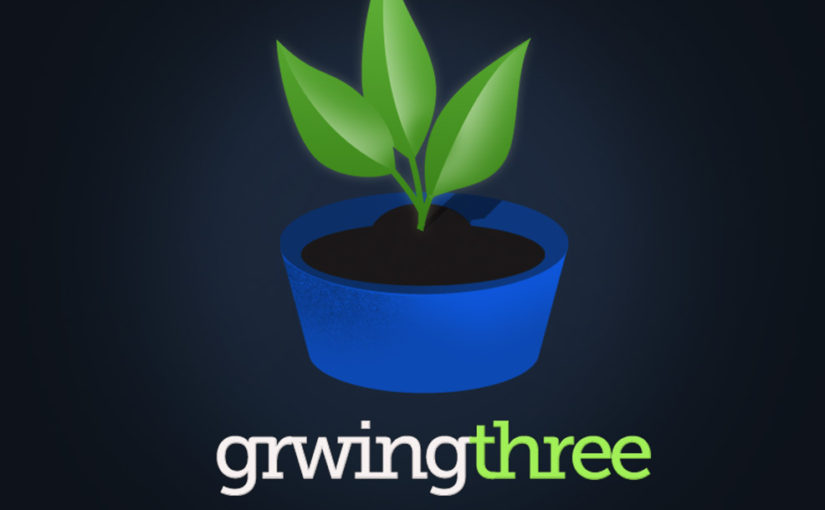 GrwingThree Plant Logo- Free Download