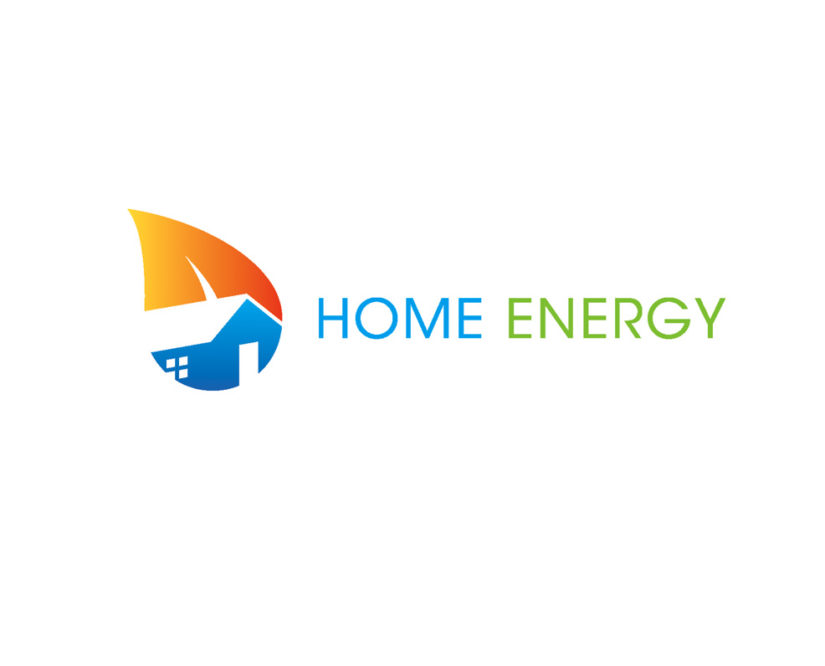 Home green energy logo design download