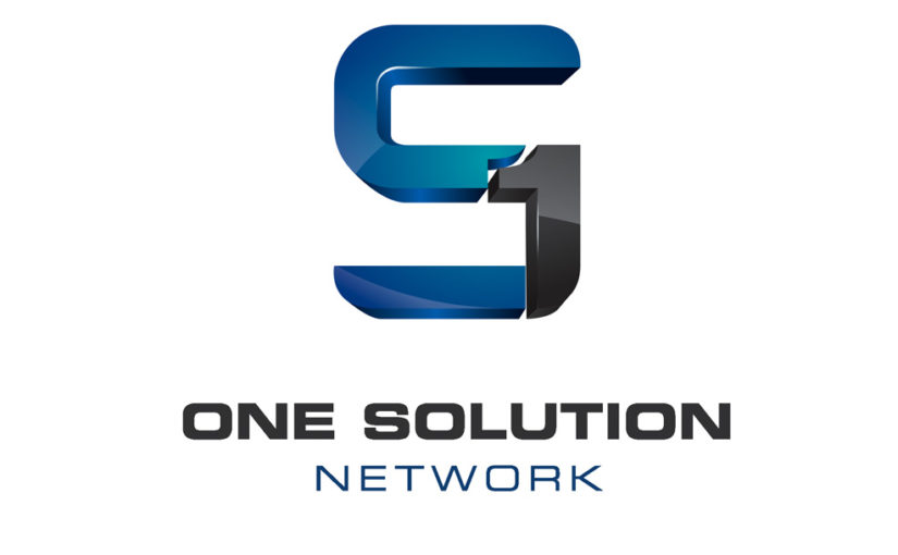 One Solution Network Logo- Free Download