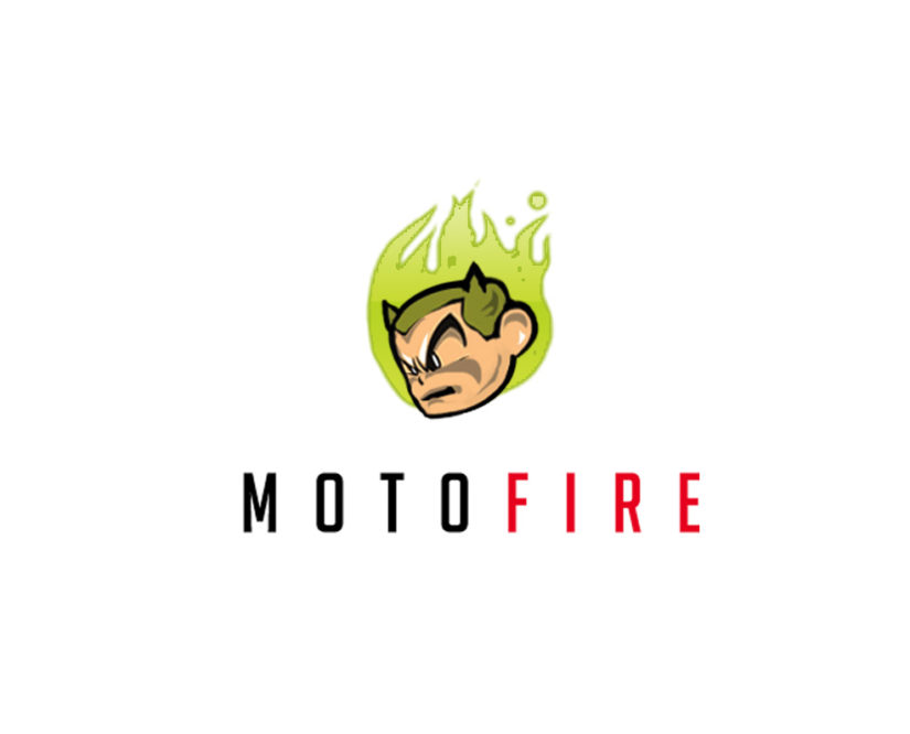 Moto Fire Logo download