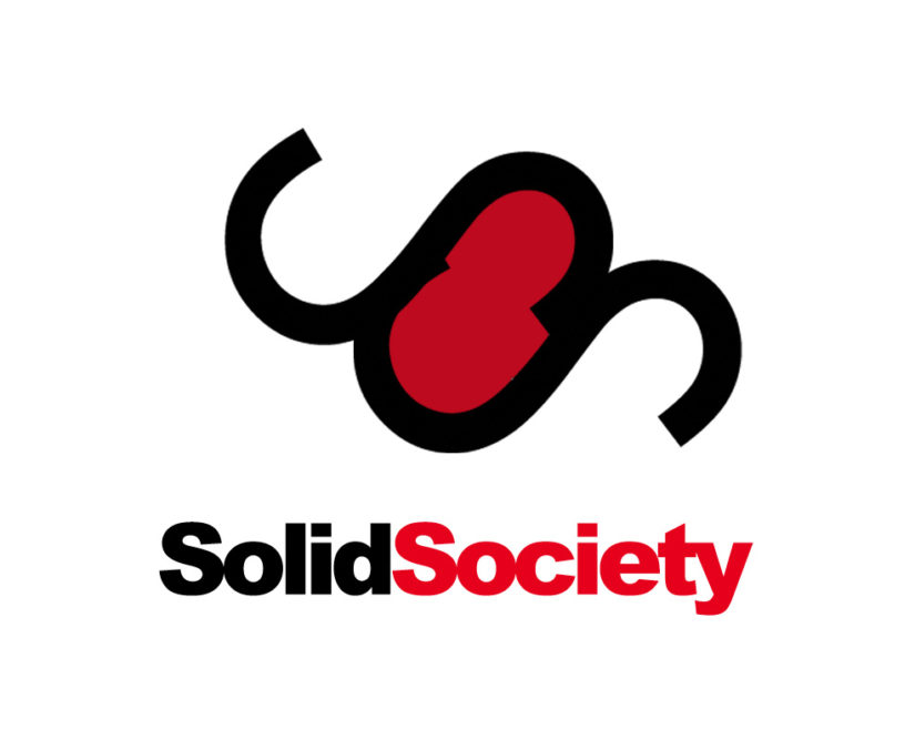 Solid society free logo design