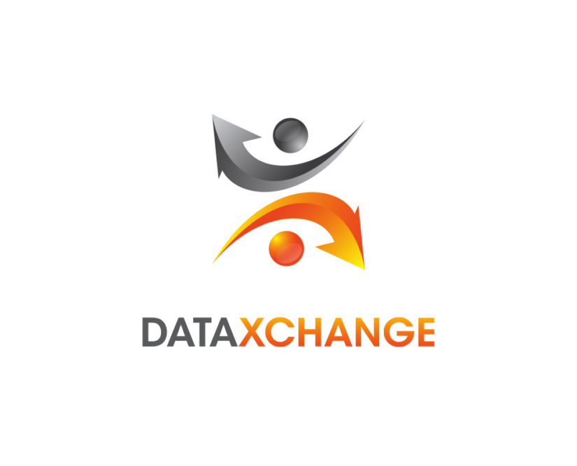 data exchange free logo template
