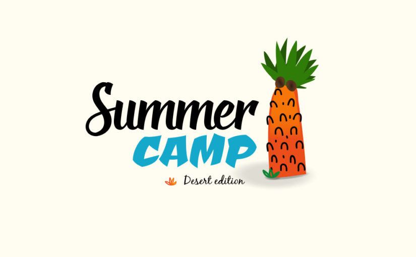 Summer Camp Free Logo – PSD and Vector Download