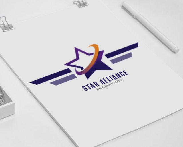Star alliance logo design