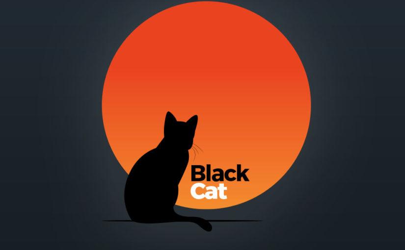 Black Cat Logo – Free Download