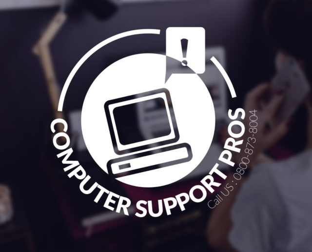 computer logo free desktop support services branding